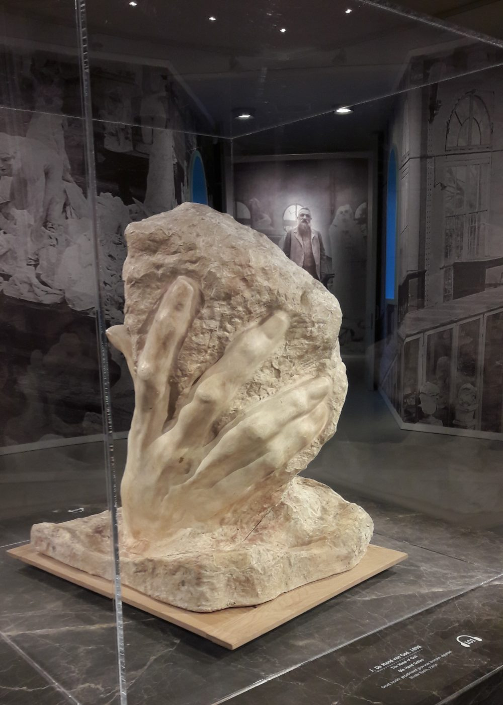 «Genius at work» Rodin
