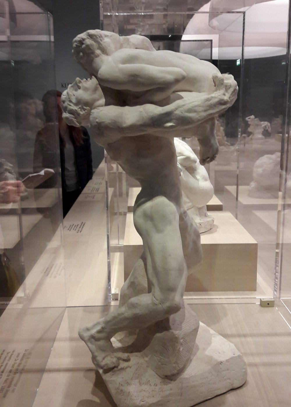 «Genius at work» Rodin